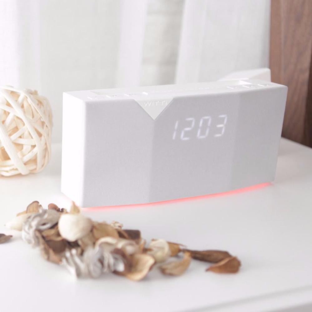 BEDDI - Smart Intelligent Alarm Clock - White