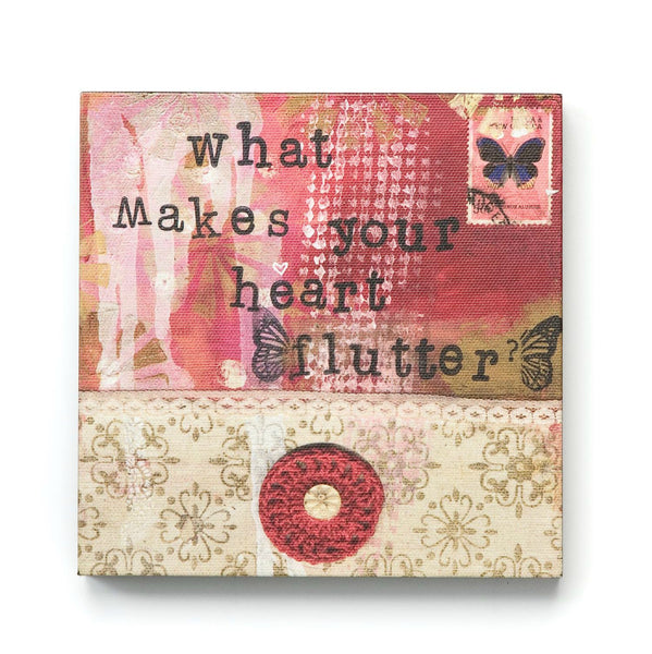 What Makes Your Heart Flutter - Gledesgaver