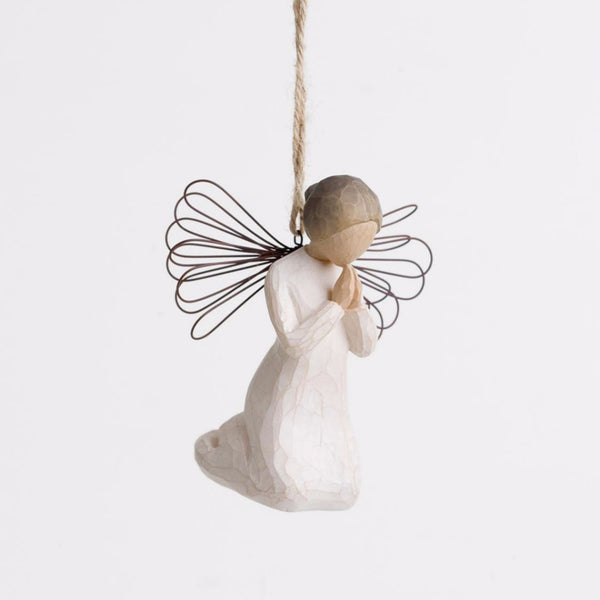 Angel Of Prayer Ornament - Gledesgaver