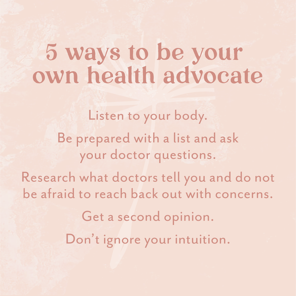 5 ways to be your own health advocate