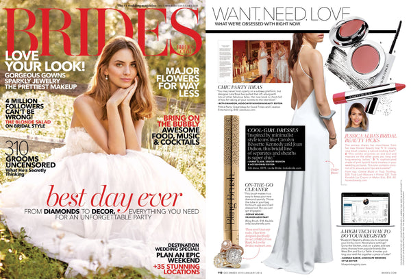 Bling Brush in Brides Magazine