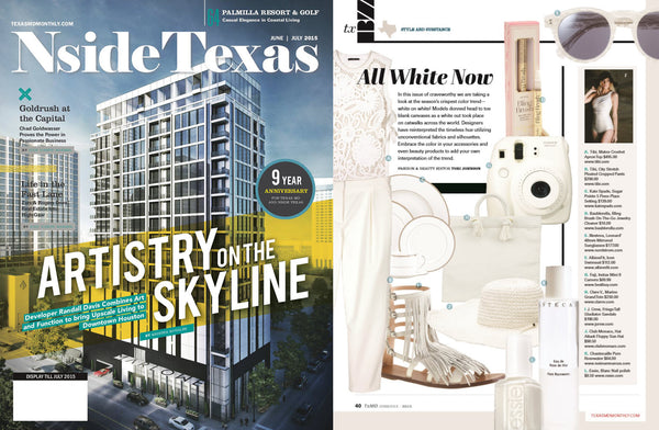Bling Brush in Nside Texas Magazine