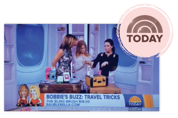 Bling Brush Jewelry Cleaner on Today Show with Hoda Kotbe