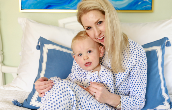 Roller Rabbit Mommy and Me Heart Pajamas