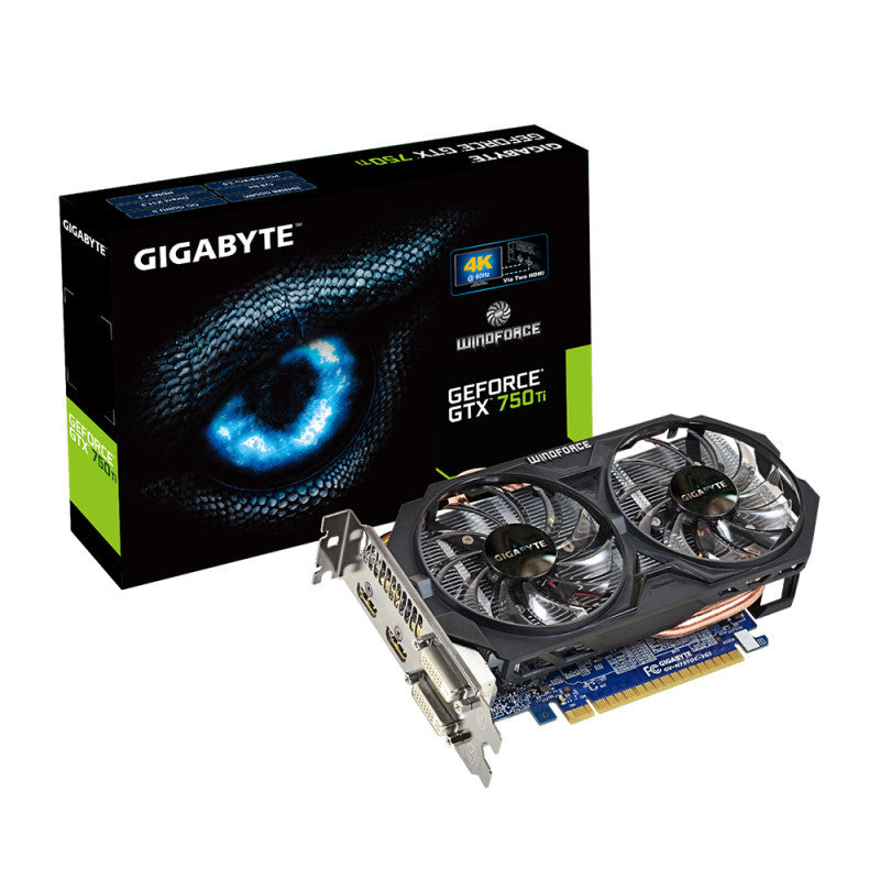 Gigabyte Gtx 750 Ti 2gb Pci E Graphics Card Monitoringup