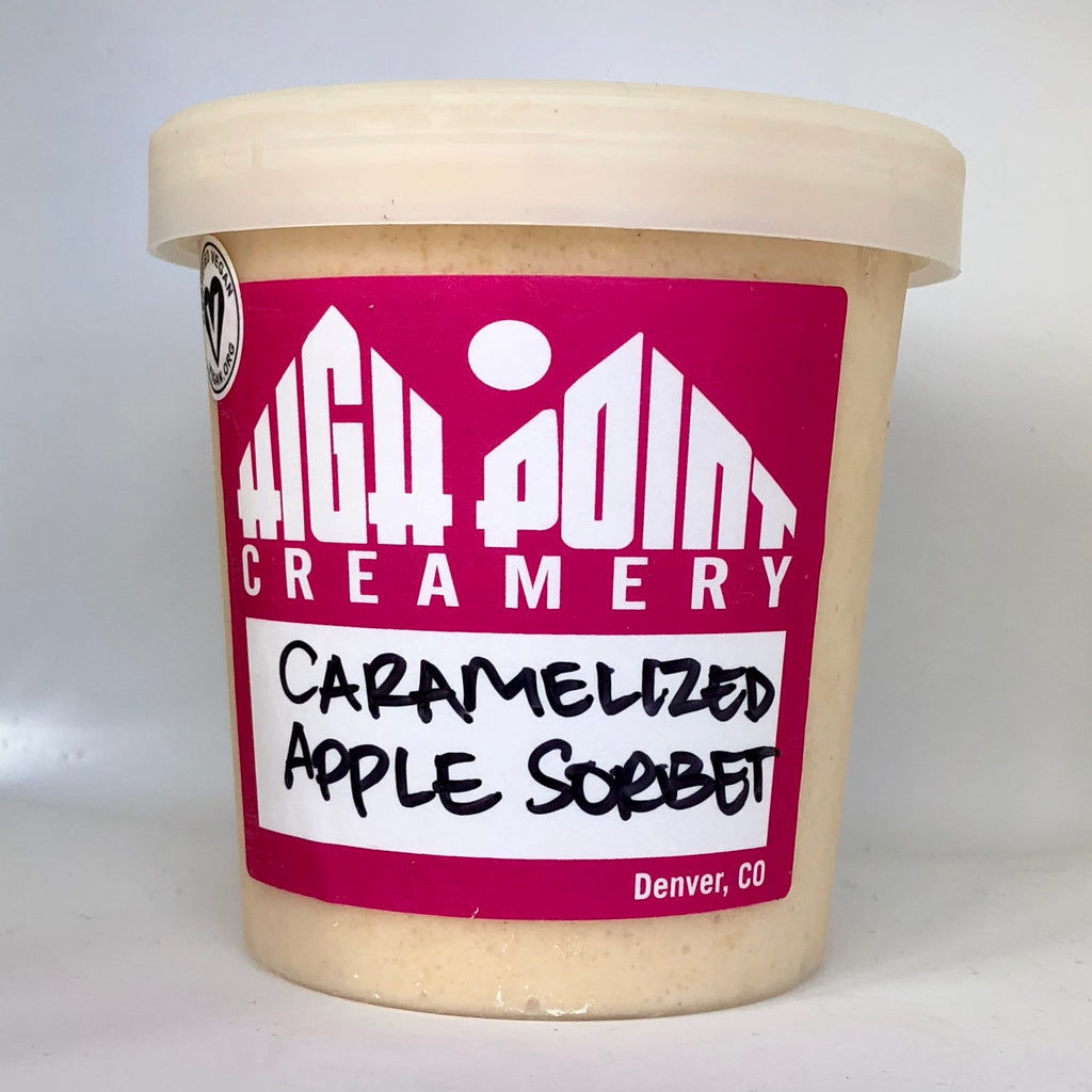 Caramelized Apple Sorbet (DF)