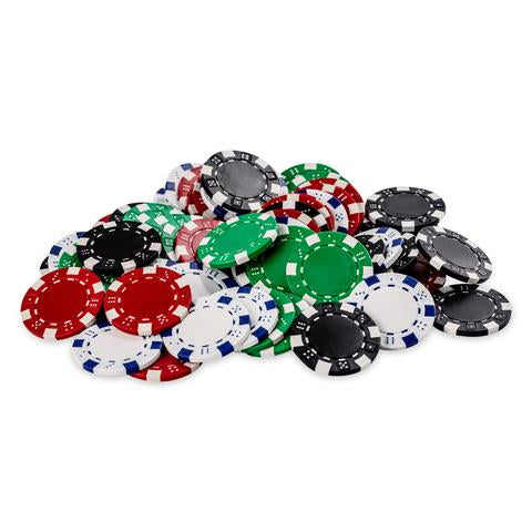 """LA FICHA"" Acrylic Poker Chips Set (Various Colors)"