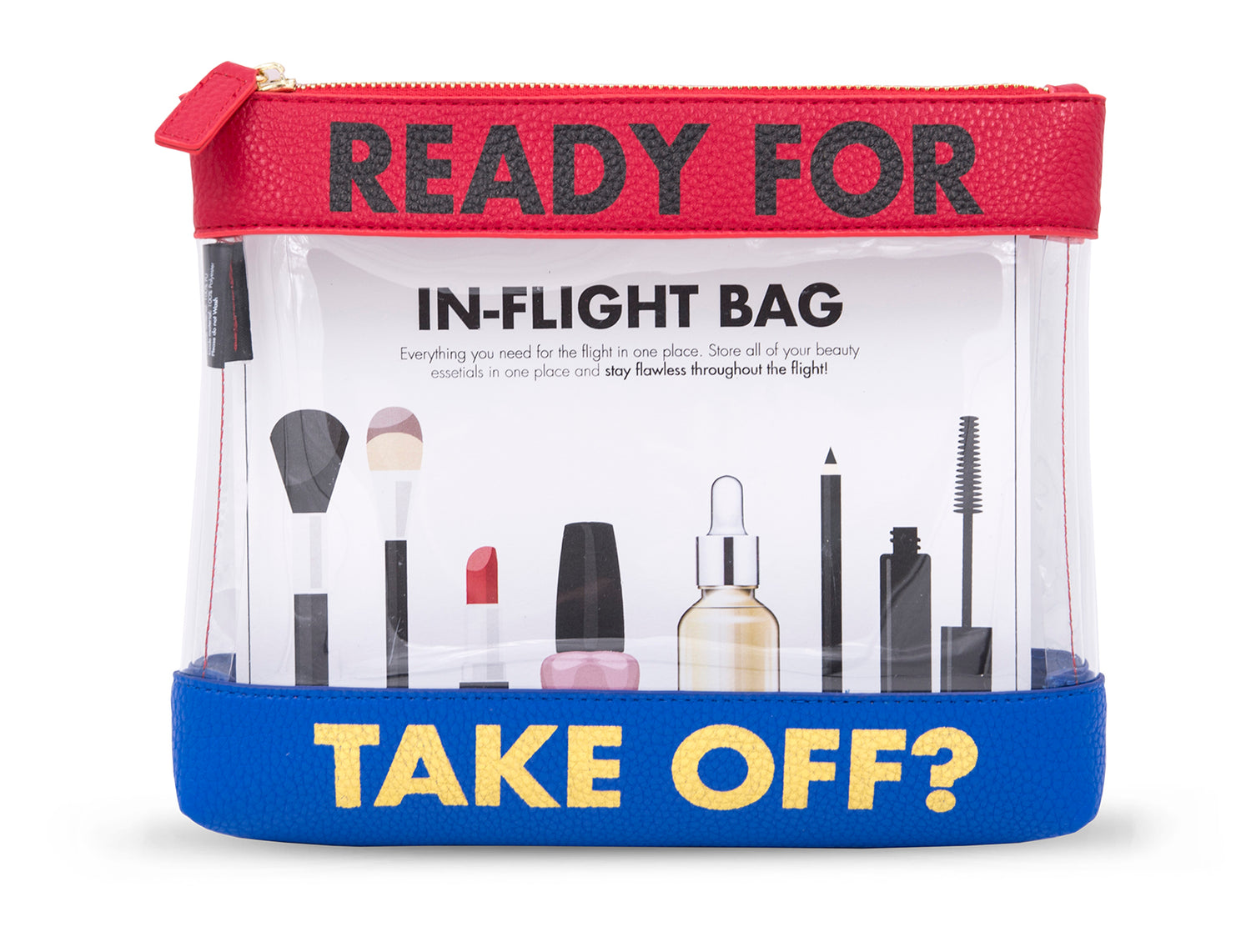 Ready for Takeoff Inflight Pouch