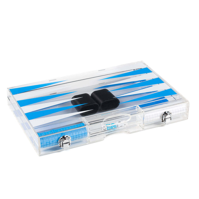 "18"" Acrylic Backgammon Set (Various Colors)"