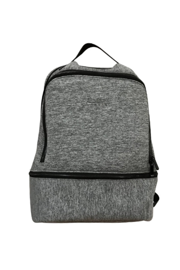 Grey Neoprene Backpack