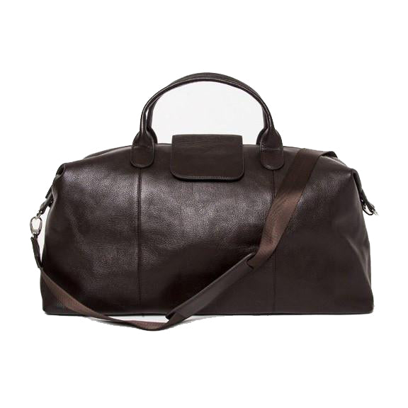 Brouk&Co Brown Leather Duffle Bag