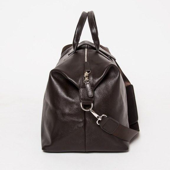 Brouk & Co Brown Leather Duffle Bag
