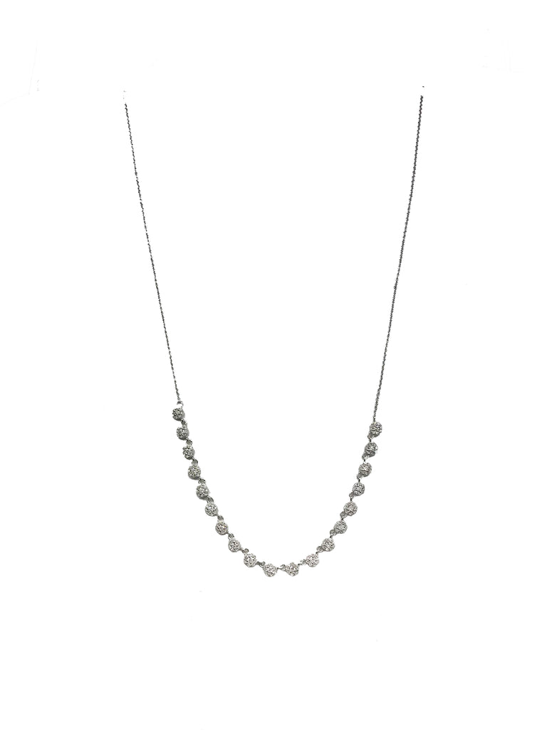 Diamond Row Necklace