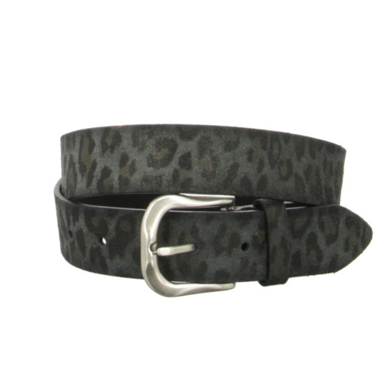 B.Belt Black Animal Print