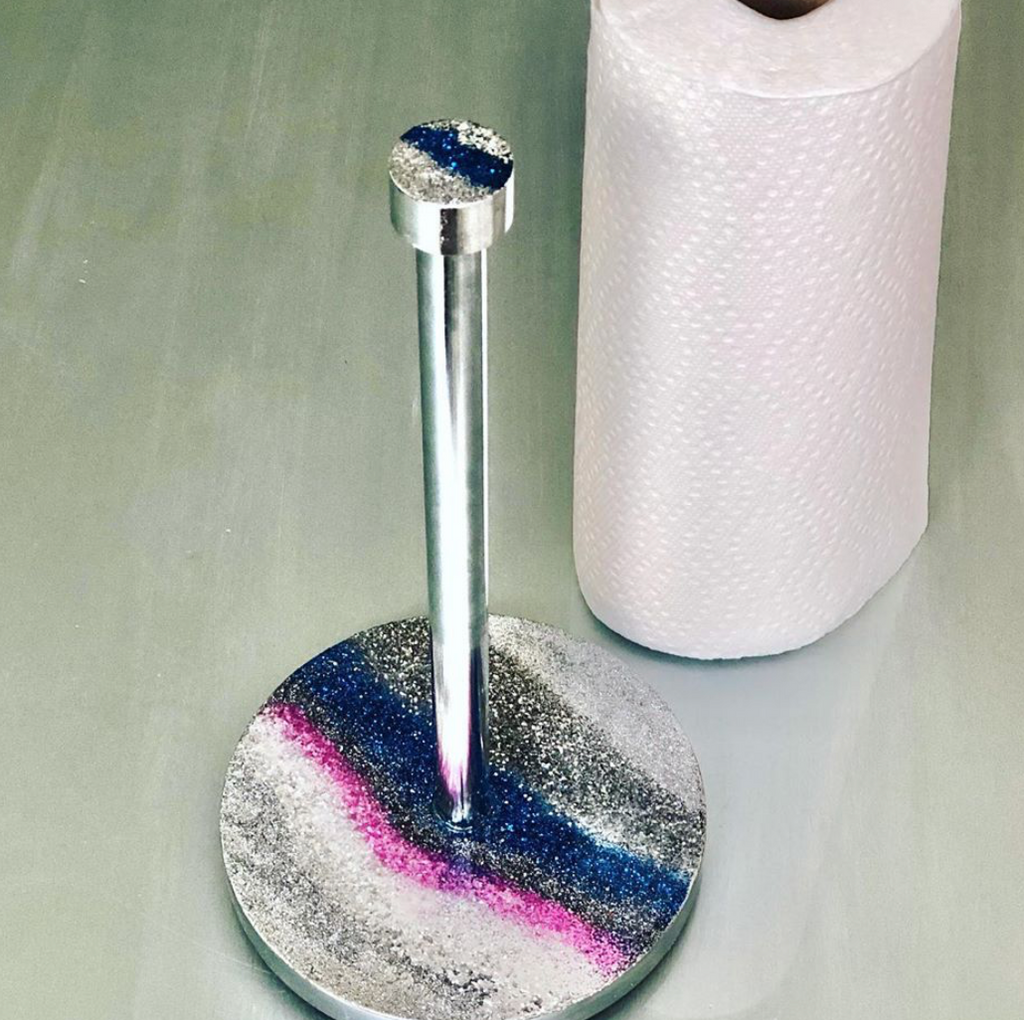 RESINatebyks Paper Towel Holder