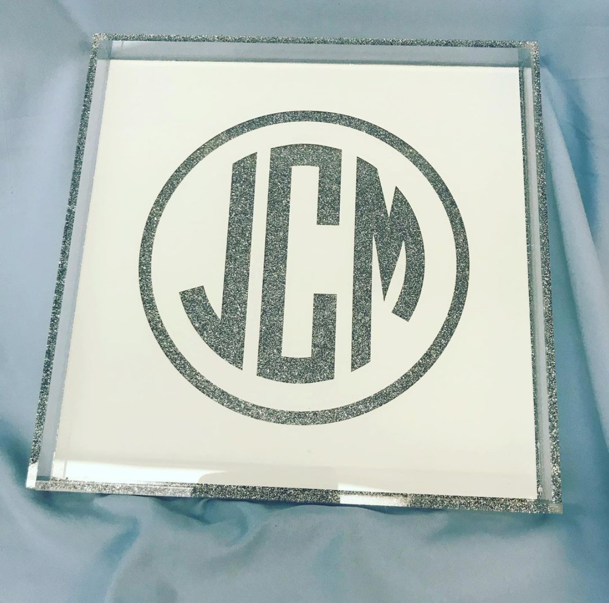 Acrylic Tray Square (Various Styles/Sizes) Customizable