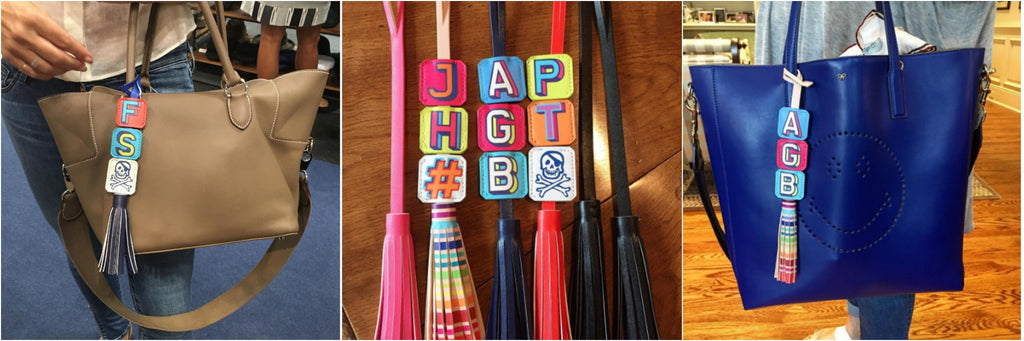 Bag Tag Tassel<br><h4>Tags sold separately</h4>