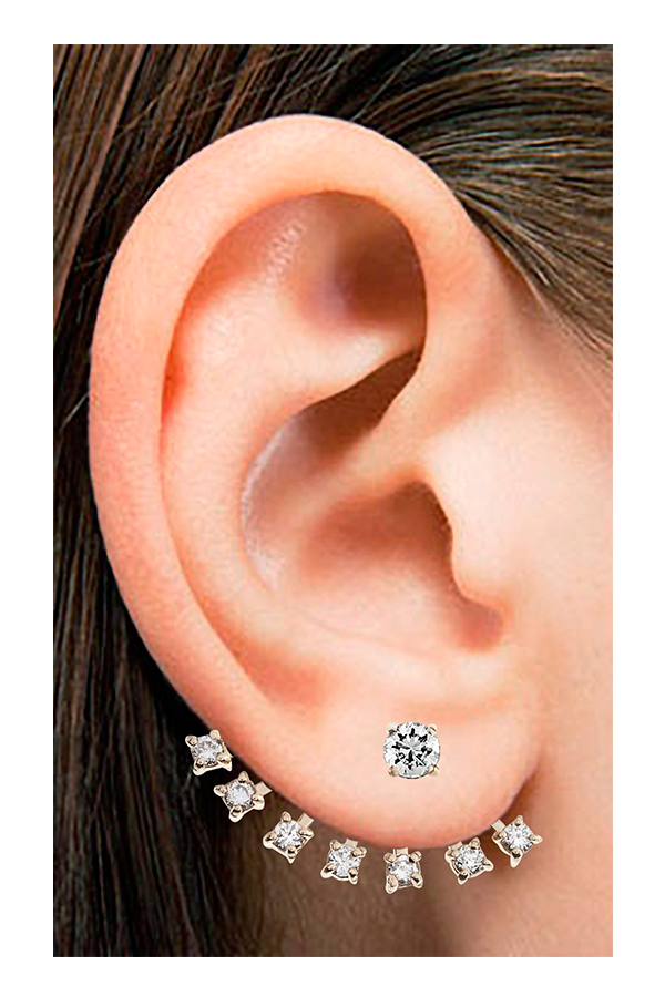 Diamond Ear Jacket