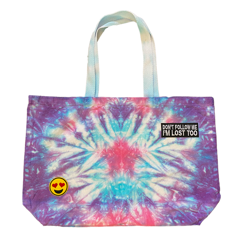 Casey Altman Design Barbie Star Tie Dye Jumbo Tote
