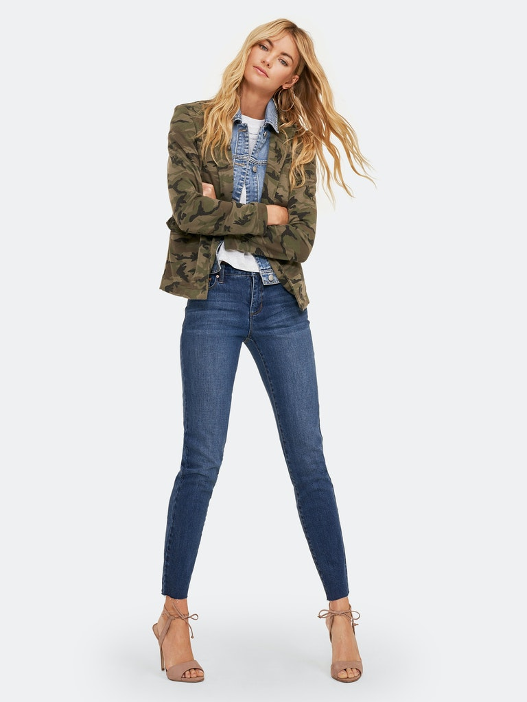 Blue Revival Camo & Denim Blazer