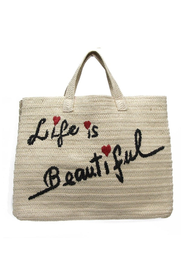 Life is Beautiful Vacay Tote
