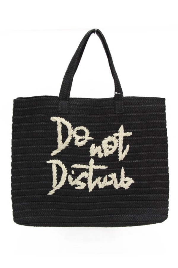Do Not Disturb Vacay Tote