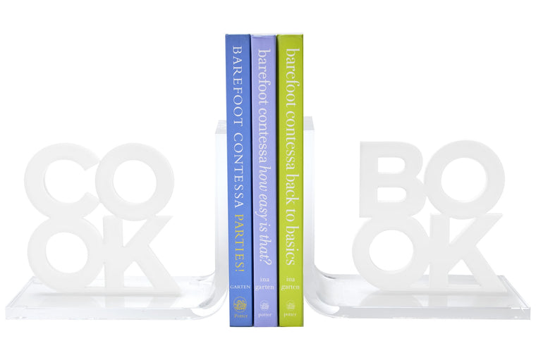 Cook Book Book Ends