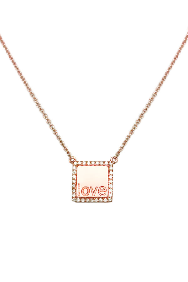 Love Token Necklace