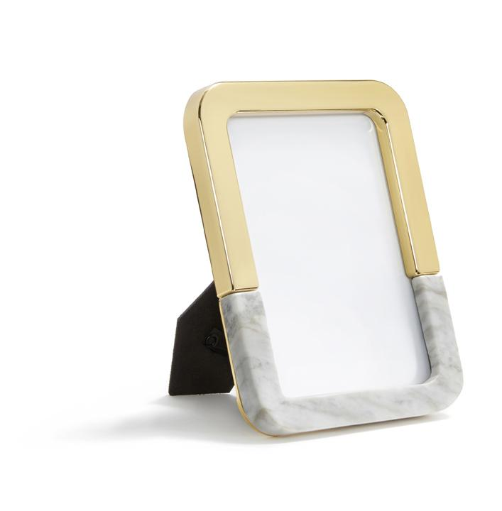 Gold & Marble Photo Frame