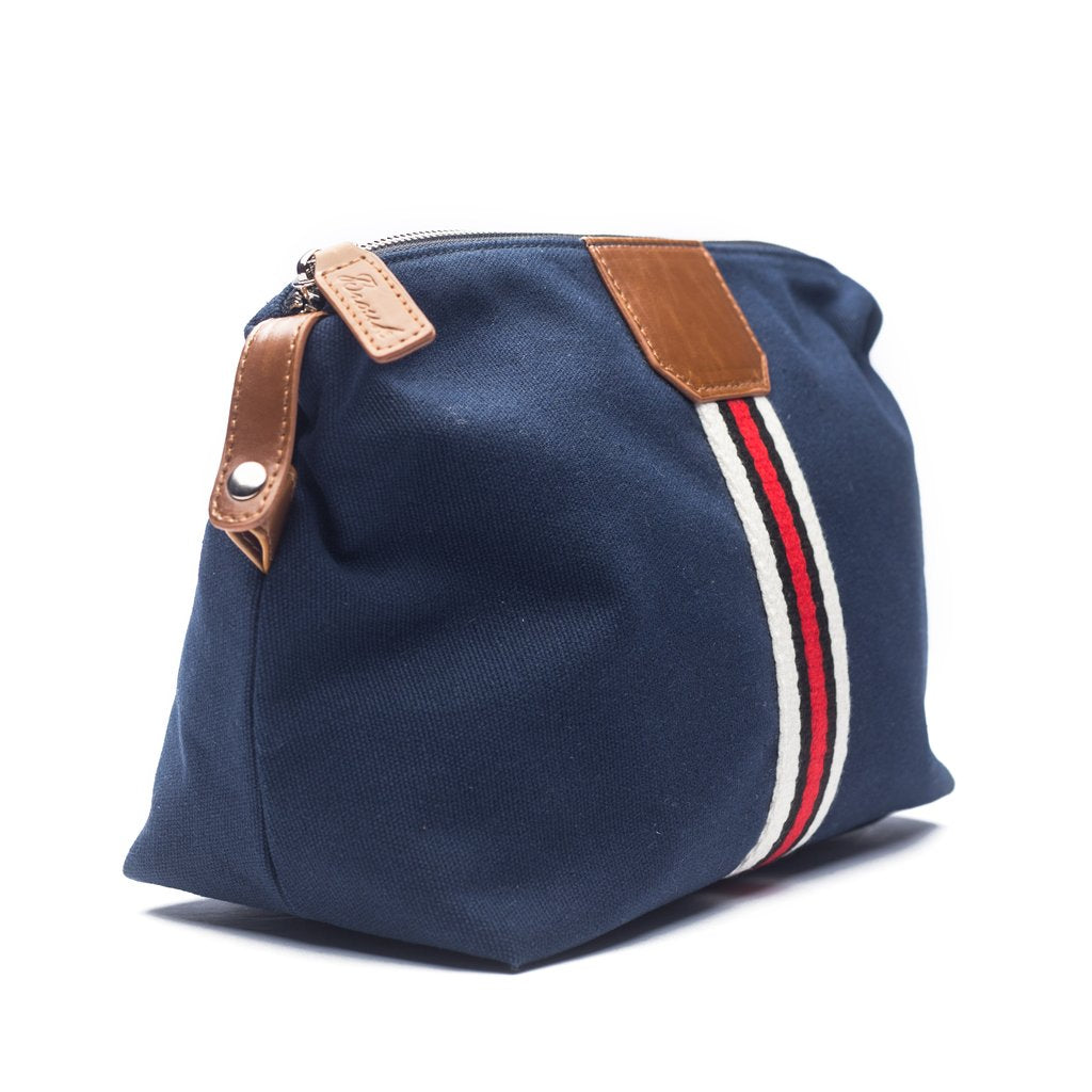 Brouk&Co Canvas Navy Stripe Dopkit