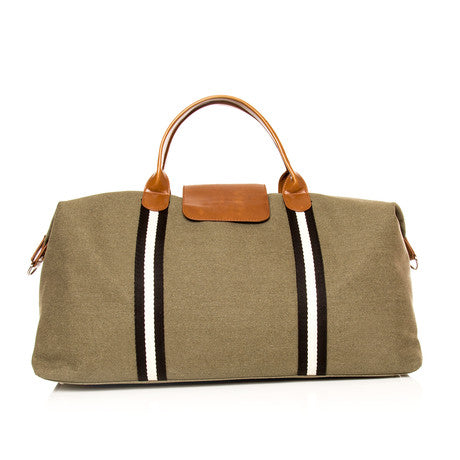 Brouk&Co Military Stripe Duffle Bag