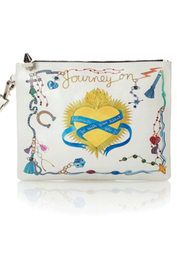 'Journey On' Clutch/Pouch