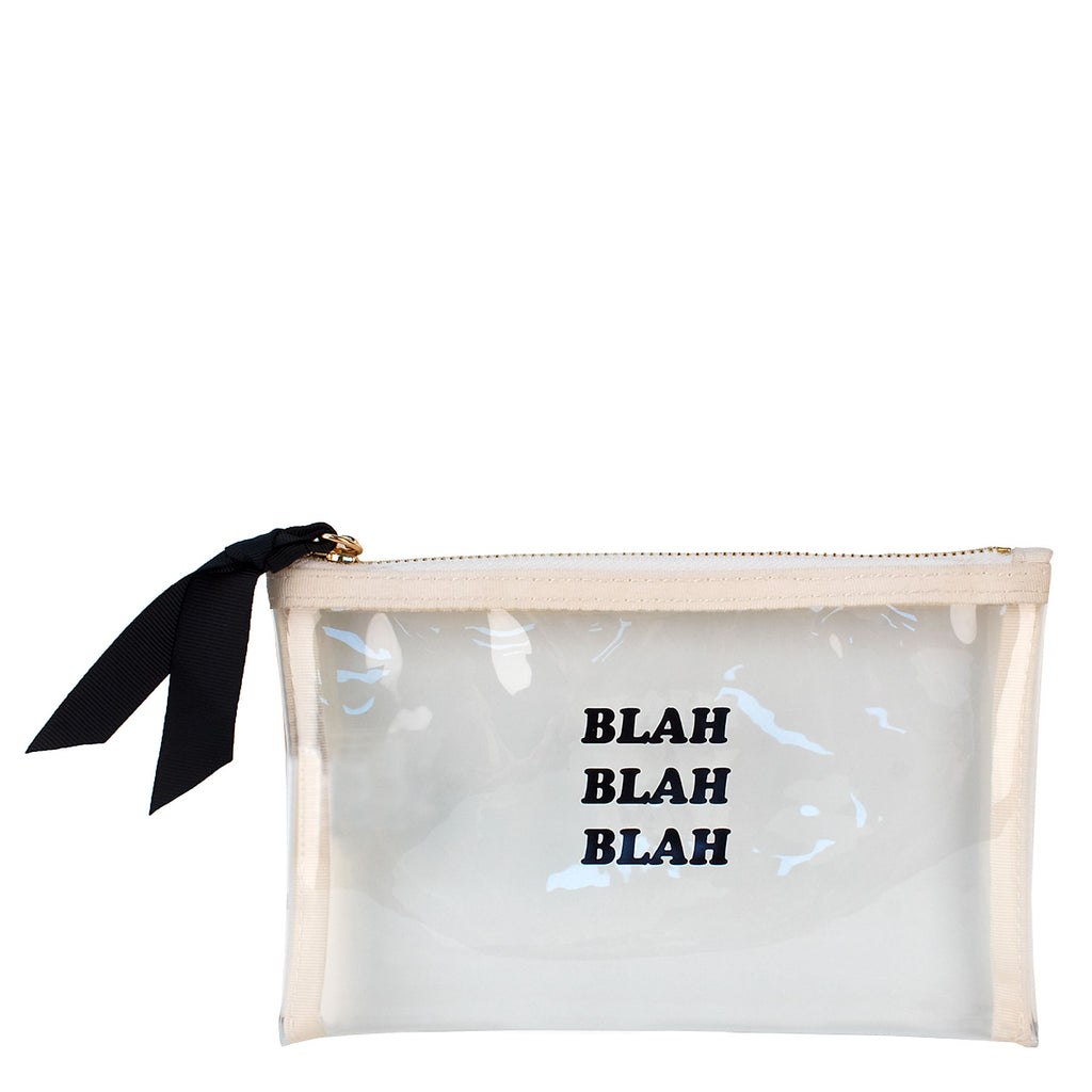 Small Clear Pouch w/ Monogramming