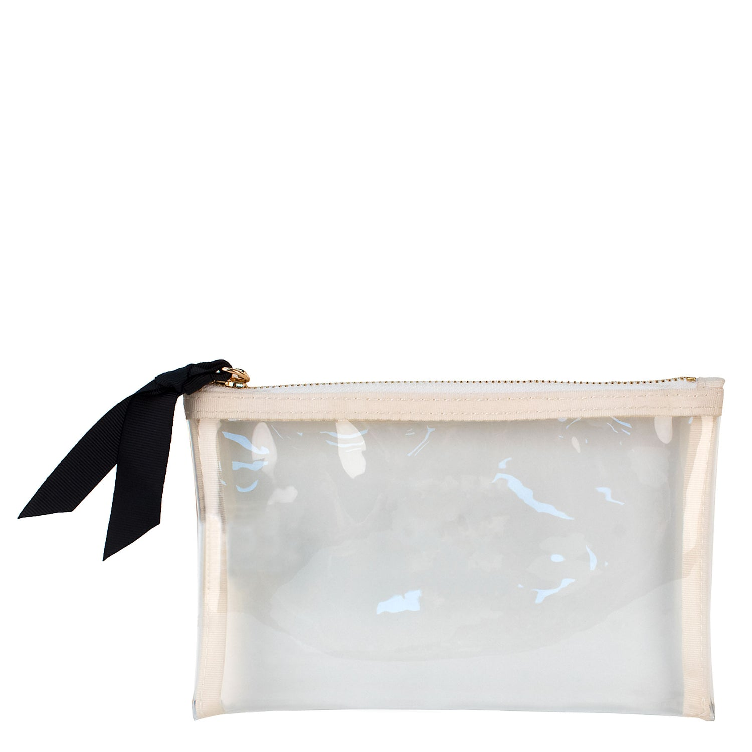 Small Square Clear Pouch w/ Monogramming