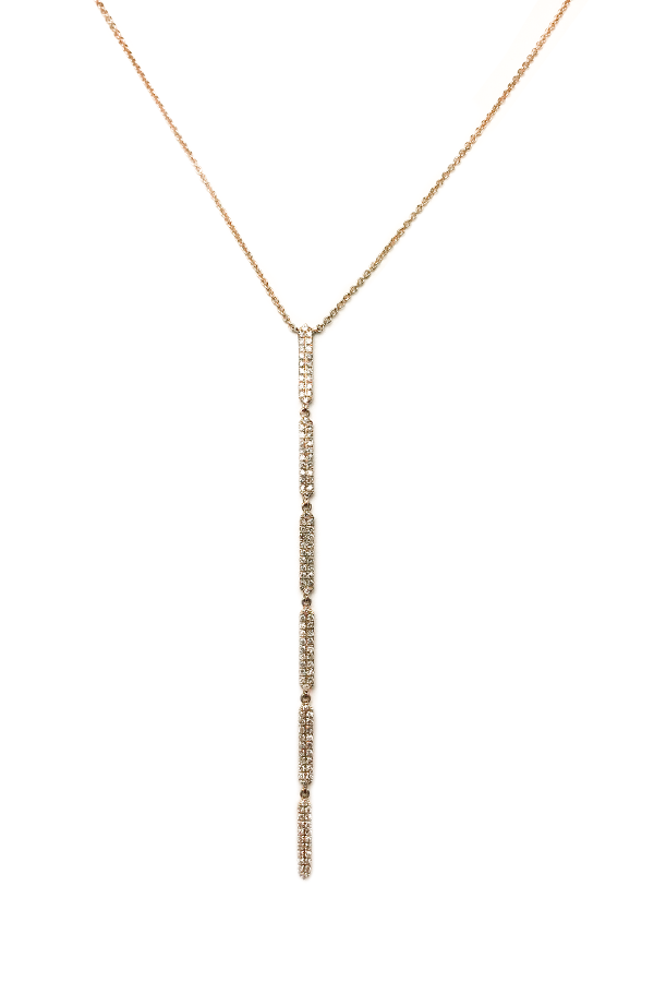 Diamond Stick Necklace