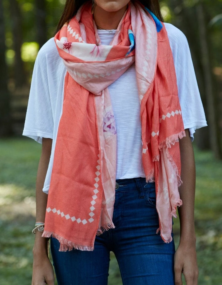 Virginia Wolf Scarf/Wrap Happily Ever After