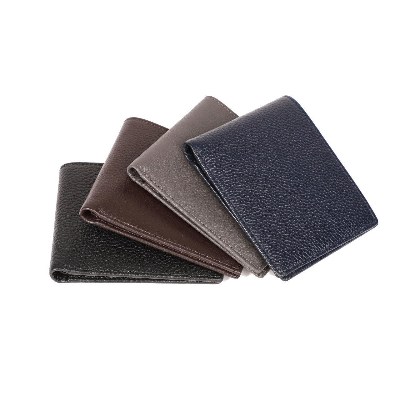 Brouk&Co Leather Wallet w/ Monogramming (Various Colors)