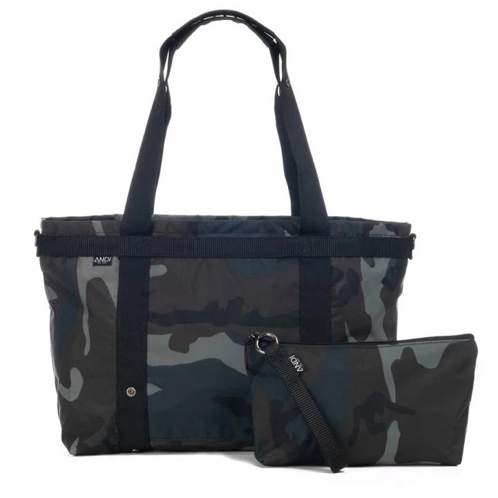 Andi Large Ink Camo Bag