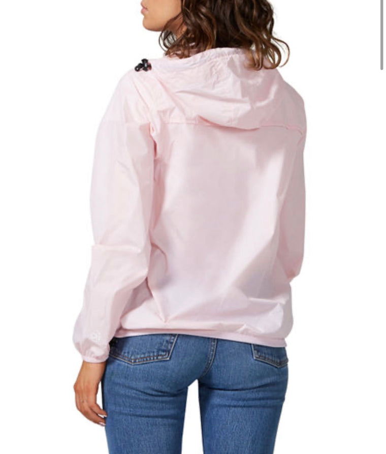 O8 Lifestyle Women's Pink Full Zip Packable Jacket