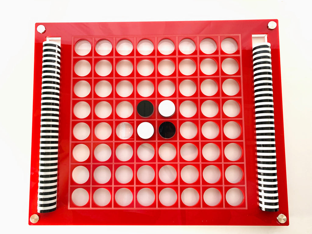 """El Reverso"" Luxe Dominos Acrylic Othello/Reversi Game (Various Colors)"