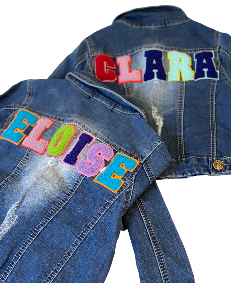 Sojara Kid's Custom Denim Jacket
