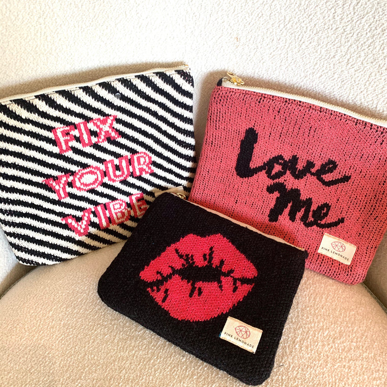 Love /Vibe /Kiss Pouch Set