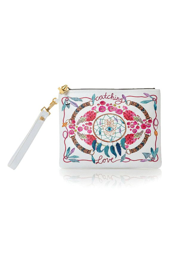 'Catching Love' Clutch/Pouch