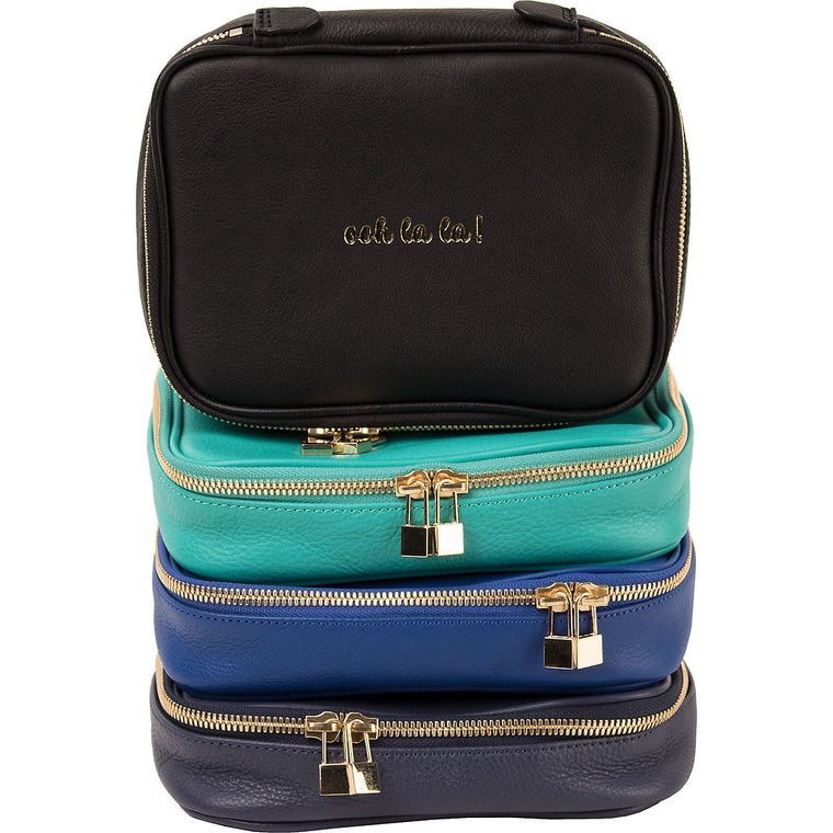 Boulevard Leather Jewelry Case w/ Monogramming