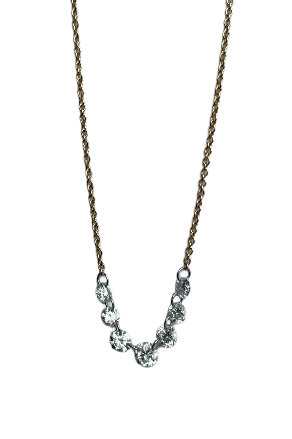 Diamond Slices Necklace
