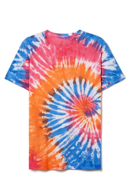 Love is All Tie Dye T-Shirt