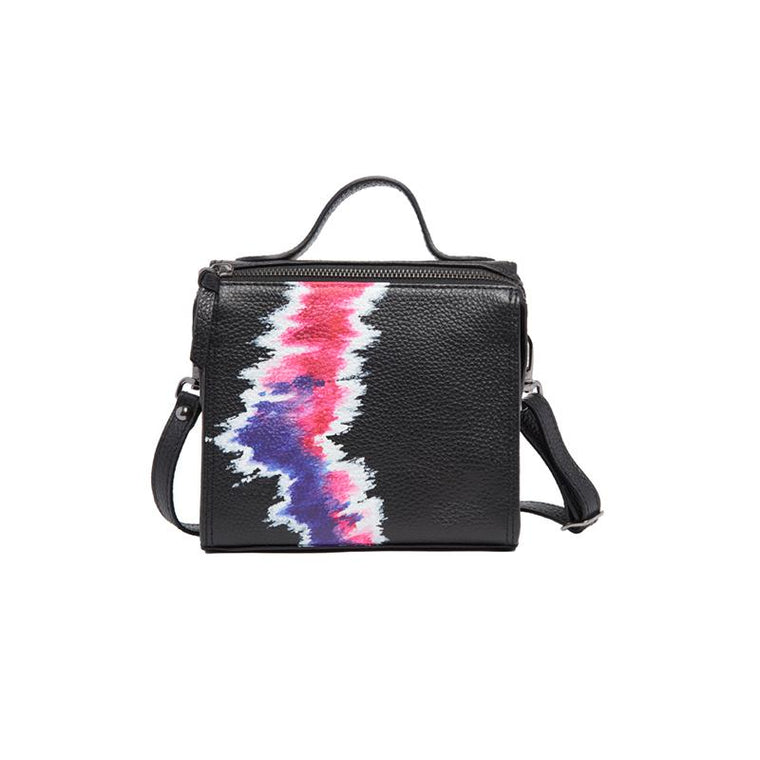 Meira T Mini Flourescent Pink Tie Dye Bag
