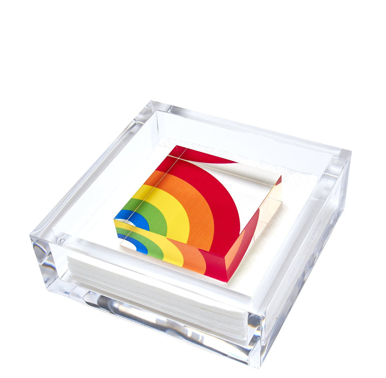 Rainbow Cocktail Napkin Holder