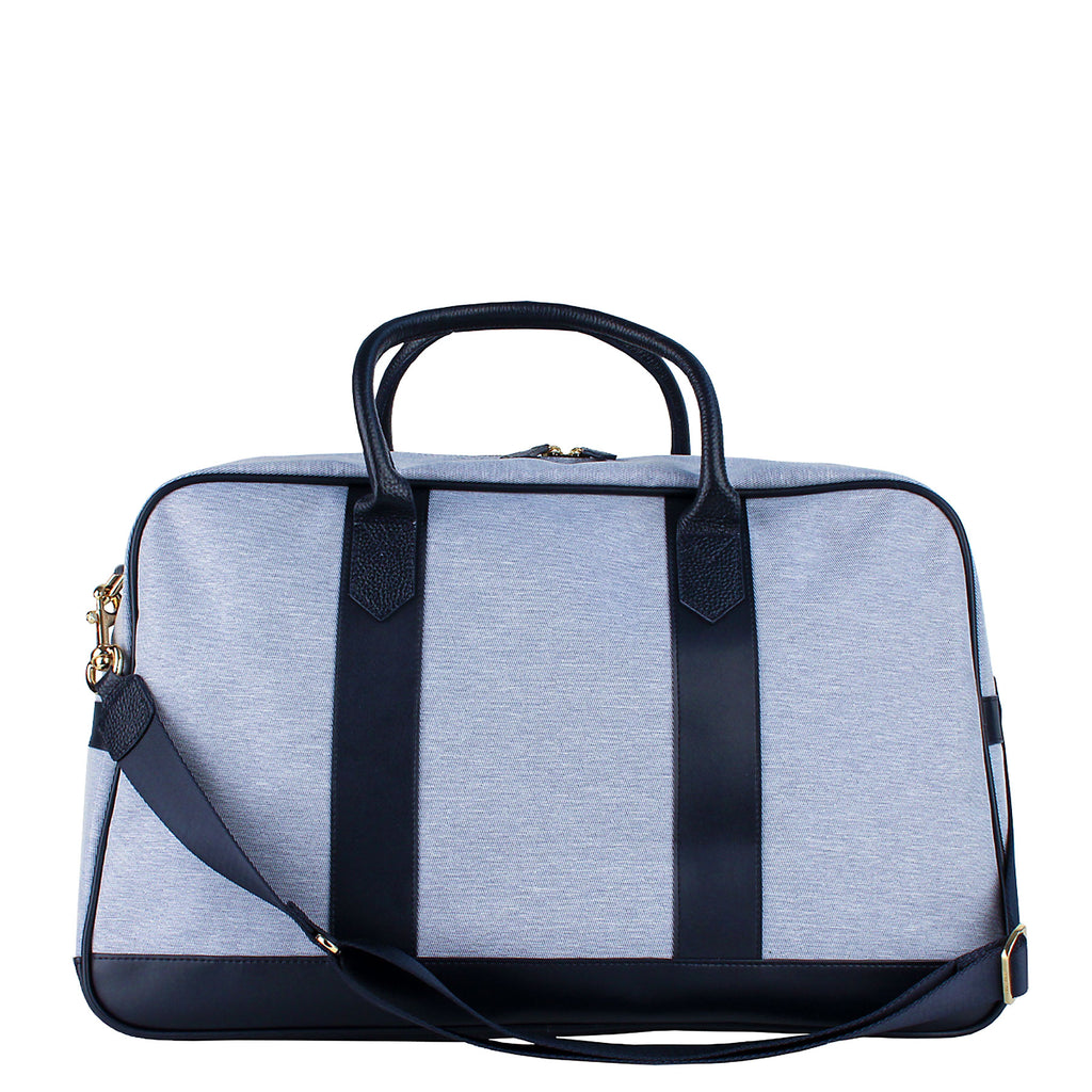 Blue Overnight Duffle w/ Monogramming