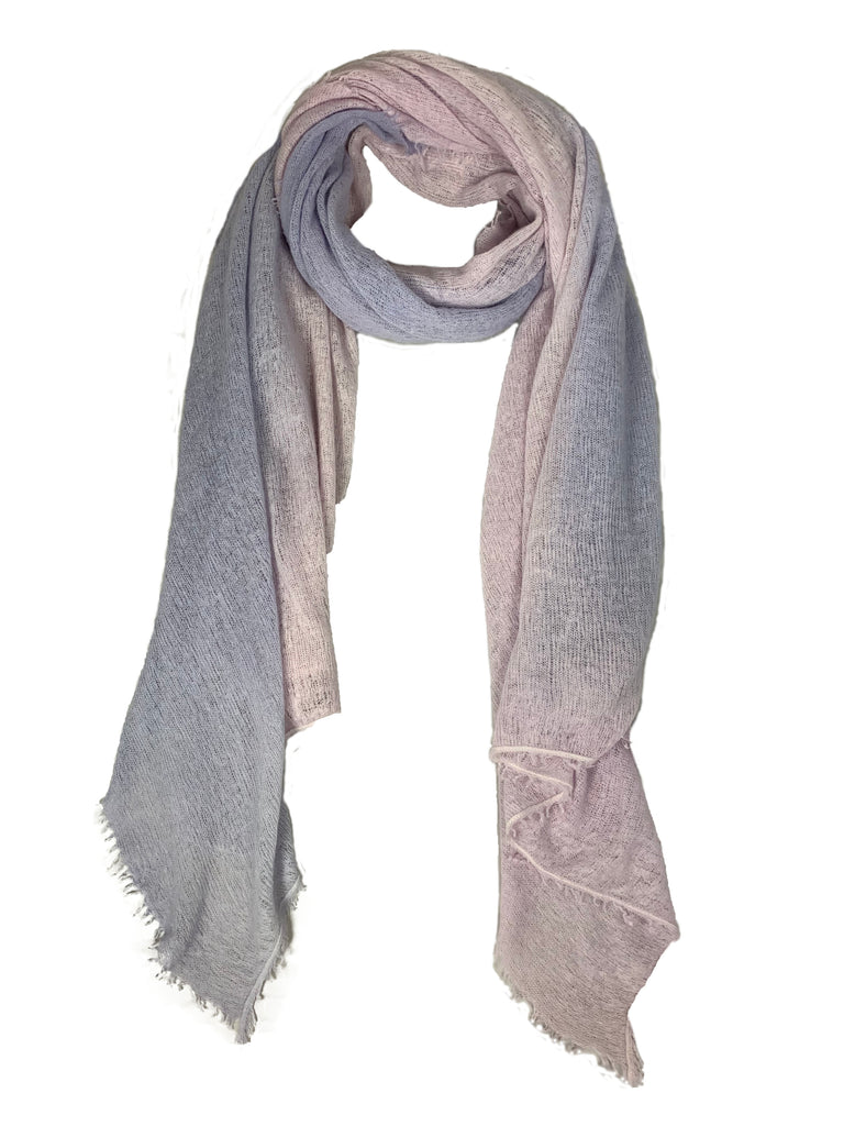 Bajra Rose/Lilac Ombre Scarf